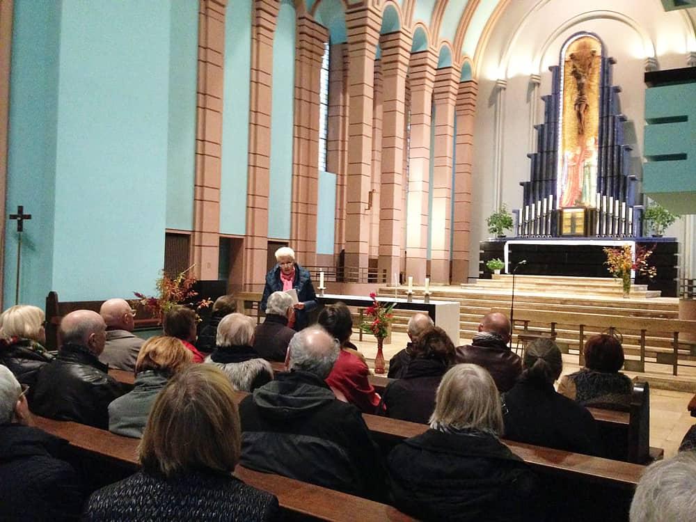 Kulturbüro Dr. Lore Gewehr - Berlin - Kirchenführungen, Vorträge & Präsentationen, Gruppen-Reisebegleitung - Kirchenführung