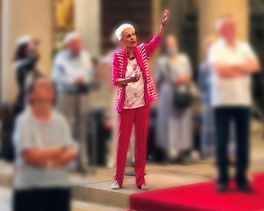 Kulturbüro Dr. Lore Gewehr - Berlin - Kirchenführungen, Vorträge & Präsentationen, Gruppen-Reisebegleitung - Dr. Lore Gewehr erklärt